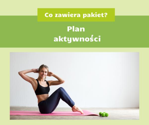 Co zawiera pakiet? Plan aktywności